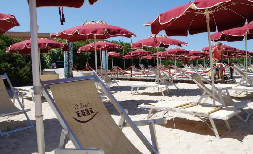 club esse roccaruja spiaggia