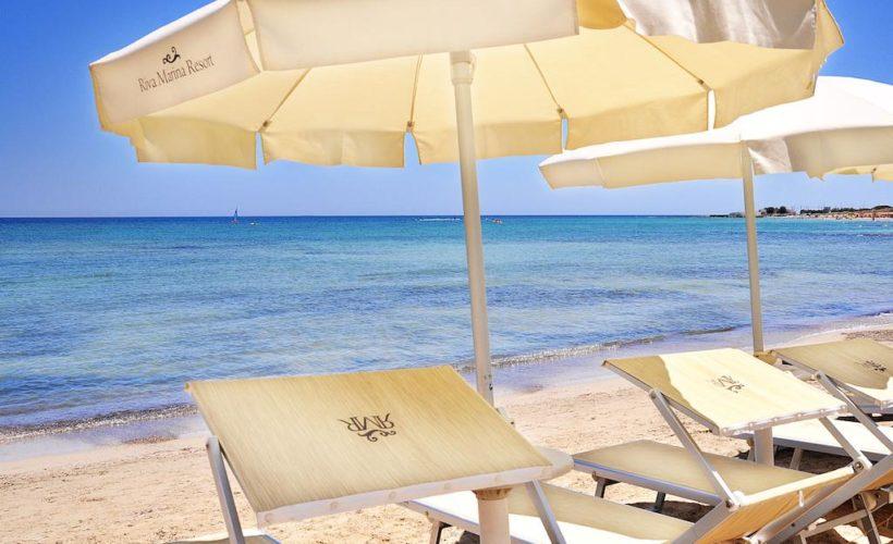 riva marina resort spiaggia