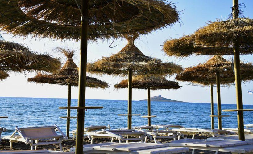 saracen sands village spiaggia