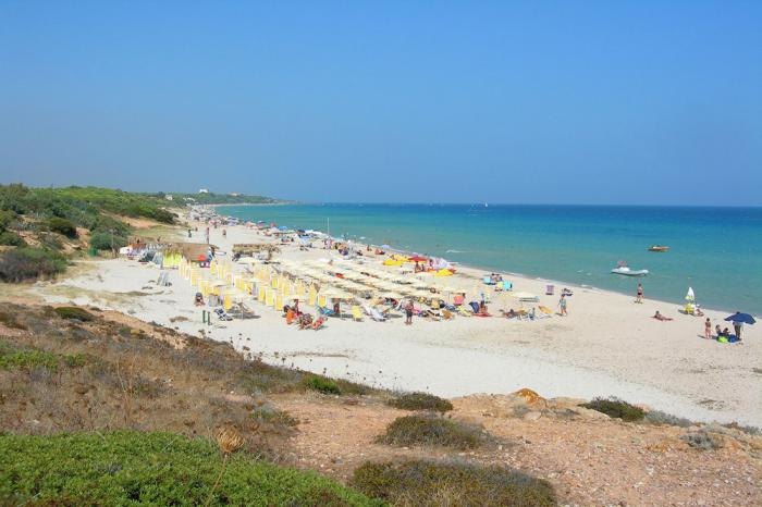 Futura Club Rocca Dorada spiaggia